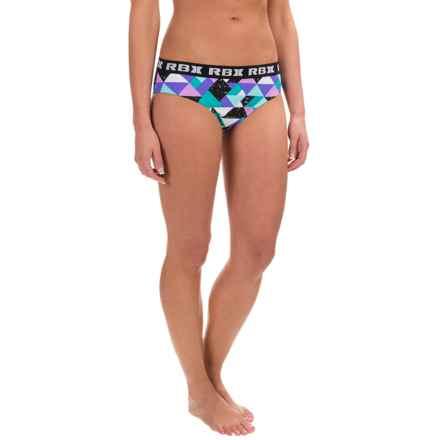 RBX Geometric Print Bikini Bottoms (For Women) in Multi - Closeouts