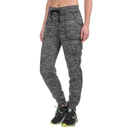RBX Hacci Knit Joggers (For Women) in Grey - Closeouts