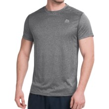 RBX Heather T-Shirt - Short Sleeve (For Men) in Black Heather - Closeouts