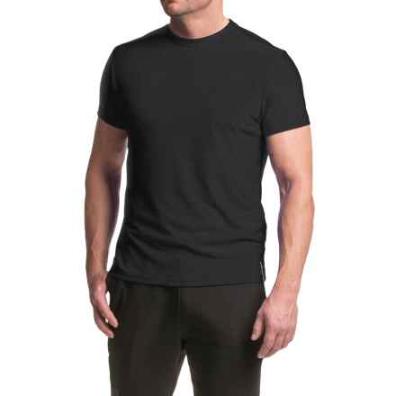 RBX Heathered Checker T-Shirt - Short Sleeve (For Men) in Black - Closeouts