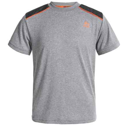 RBX Heathered Jersey T-Shirt - Short Sleeve (For Big Boys) in Grey Heather - Closeouts