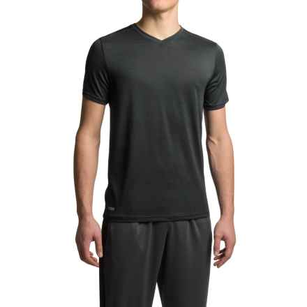 RBX Heathered Jersey T-Shirt - V-Neck, Short Sleeve (For Men) in Black - Closeouts