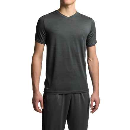 RBX Heathered Jersey T-Shirt - V-Neck, Short Sleeve (For Men) in Graphite - Closeouts