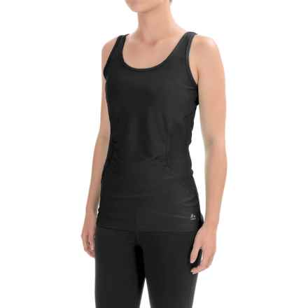 RBX Heathered Jersey Tank Top (For Women) in Black/Black - Closeouts