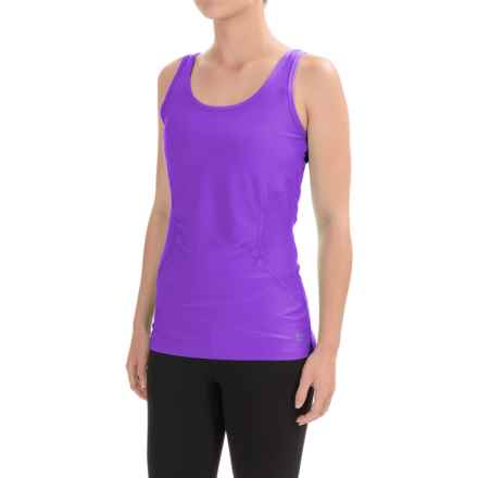 RBX Heathered Jersey Tank Top (For Women) in Purple Punch/Purple Punch - Closeouts