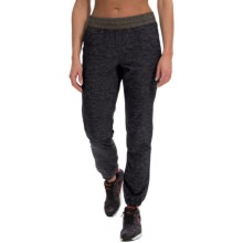 RBX Heathered Stretch-Woven Joggers (For Women) in Black - Closeouts