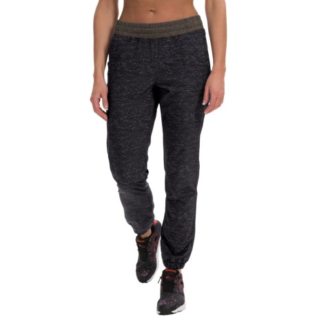 RBX Heathered Stretch Woven Joggers (For Women)