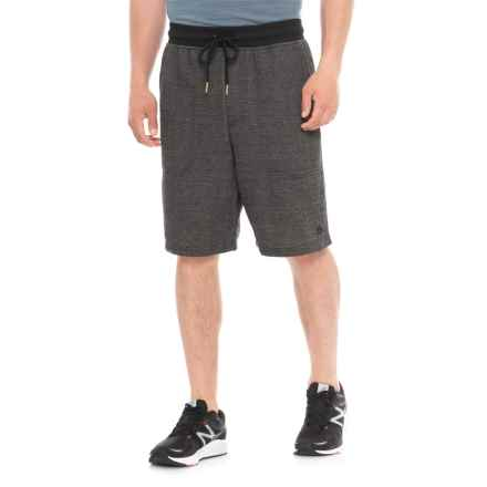 RBX Herringbone Training Shorts (For Men) in Black - Closeouts
