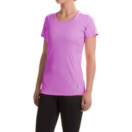 RBX High-Performance Scoop Neck T-Shirt - Short Sleeve (For Women) in Orchid/Coral - Closeouts