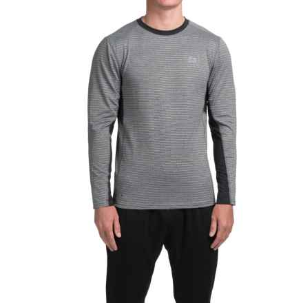 RBX High-Performance Shirt - Long Sleeve (For Men) in Heather/Graphite - Closeouts