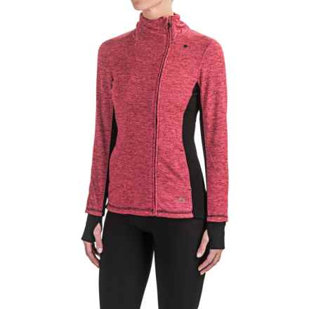 RBX High-Performance Zip Jacket (For Women) in Candy/Black - Closeouts