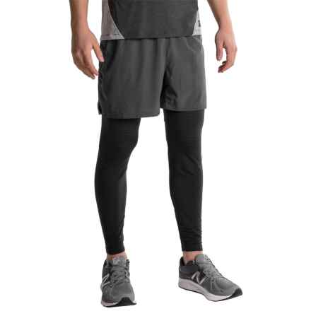 RBX Jacquard Base Layer Pants (For Men) in Black - Closeouts
