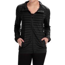 RBX Jacquard Mesh Jacket (For Women) in Black - Closeouts