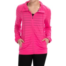 RBX Jacquard Mesh Jacket (For Women) in Electric Pink - Closeouts
