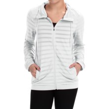 RBX Jacquard Mesh Jacket (For Women) in White - Closeouts