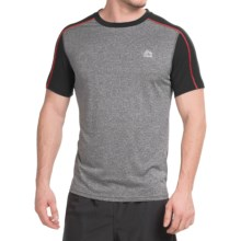 RBX Jersey T-Shirt - Short Sleeve (For Men) in Charcoal/Black - Closeouts