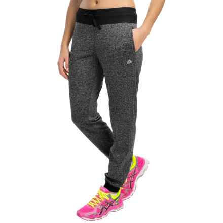 RBX Knit Jersey Joggers (For Women) in Charcoal - Closeouts