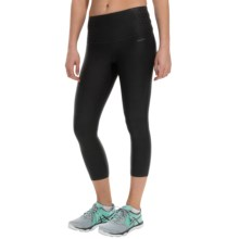 RBX Laser-Cut Capris (For Women) in Black/Hot Pink - Closeouts