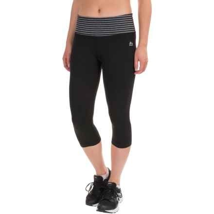 RBX LDS Capris (For Women) in Black/Charcoal Heather - Closeouts