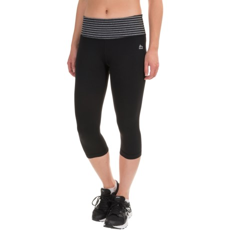 RBX LDS Capris (For Women) in Black/Charcoal Heather