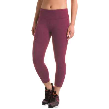 RBX LDS Crop Pants (For Women) in Sangria Heather - Closeouts