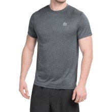 RBX Linea Heathered T-Shirt - Short Sleeve (For Men) in Black Stripe - Closeouts