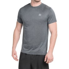 RBX Linea Heathered T-Shirt - Short Sleeve (For Men) in Charcoal Stripe - Closeouts