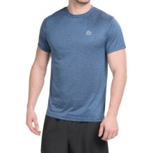 RBX Linea Heathered T-Shirt - Short Sleeve (For Men) in Estate Blue Stripe - Closeouts