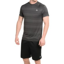 RBX Linea Shadow Shirt - Short Sleeve (For Men) in Black Stripe - Closeouts