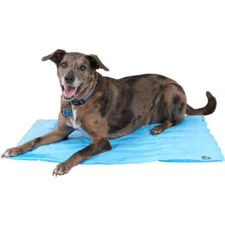 "RBX Liquid Gel Dog-Cooling Mat - XL, 27x36"" in Blue - Closeouts"