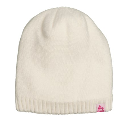 099ca61f0f3f9 RBX Loop Knit Sherpa-Lined Beanie (For Women) in White - Closeouts