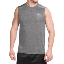 RBX Lumen Muscle Tank Top (For Men) in Heather Black - Closeouts