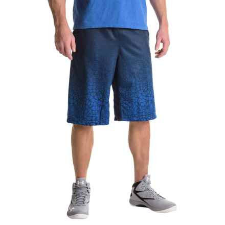 "RBX Mesh Gradient Basketball Shorts - 11.5"" (For Men) in Navy - Closeouts"