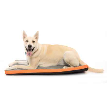 "RBX Mesh Orthopedic Foam Dog Crate Mat - 40x26"" in Orange - Closeouts"