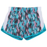 RBX Mesh Printed Shorts - Built-in Briefs (For Big Girls)