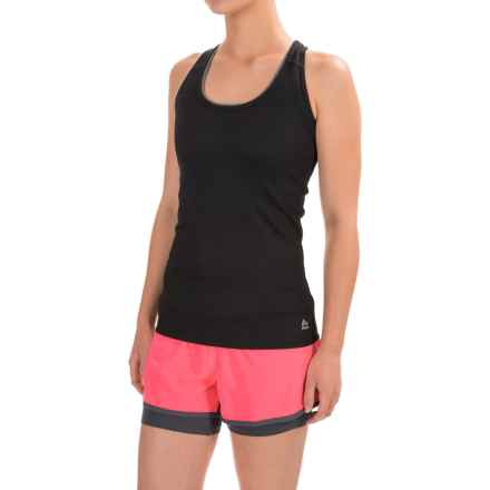 RBX Mesh Racerback Tank Top (For Women) in Black - Closeouts