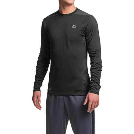 RBX Mesh T-Shirt - Crew Neck, Long Sleeve (For Men) in Black/Graphite - Closeouts