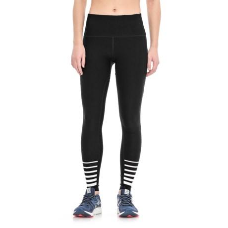 RBX Missy Full-Length Leggings (For Women) in Black/White