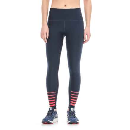 RBX Missy Full-Length Leggings (For Women) in Inky Blue/Red - Closeouts