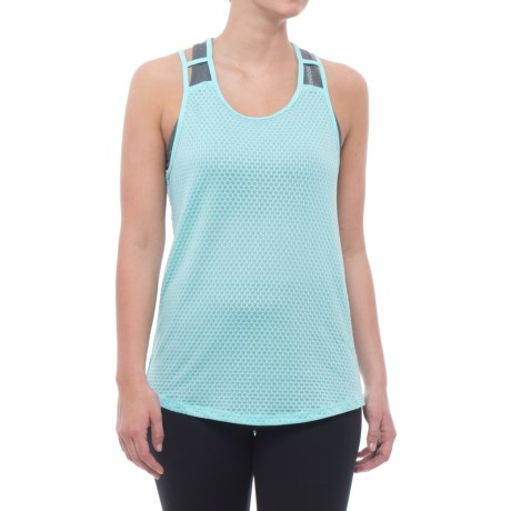 RBX Missy Mesh Tank Top (For Women) in Robins Egg Blue