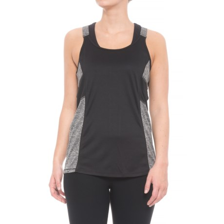 RBX Missy Strappy Tank Top (For Women) in Black