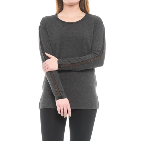 RBX Missy T-Shirt - Long Sleeve (For Women) in Charcoal