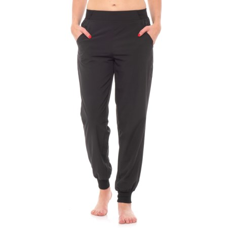 RBX Missy Woven Lined Joggers (For Women) in Black