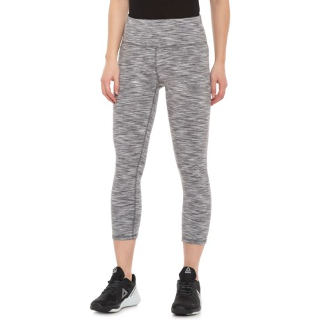 5132a174d628a RBX Peached Space-Dye Capris (For Women) in Platinum Grey