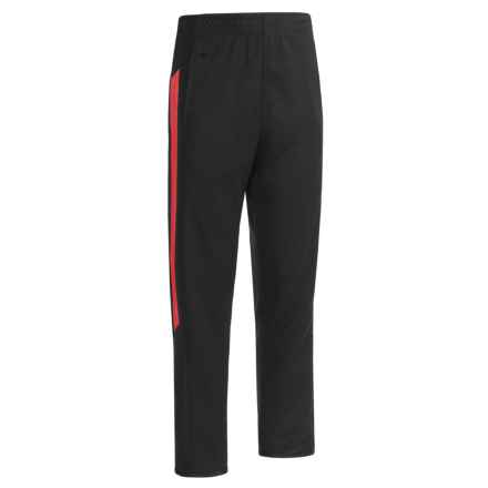 RBX Poly Pique Victory Pants (For Big Boys) in Midnight/Collegiate Red - Closeouts