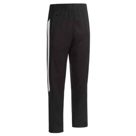 RBX Poly Pique Victory Pants (For Big Boys) in Midnight W/ Bright White - Closeouts