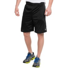 RBX Prime Mesh Training Shorts (For Men) in Black/Graphite - Closeouts