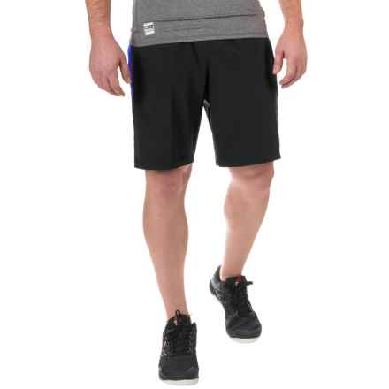 RBX Prime Training Shorts (For Men) in Graphite/Game Royal - Closeouts