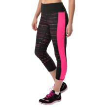 RBX Print Capris (For Women) in Electric Pink - Closeouts