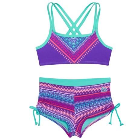 RBX Printed Bikini (For Big Girls) in Multi